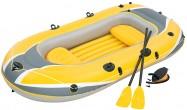 סירה מתנפחת איכותית לשלושה אנשים Raft דגם  61068 תוצרת Bestway