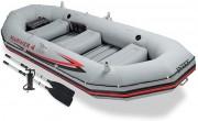 סט סירה לארבע אנשים תוצרת  Intex  דגם  4  Mariner