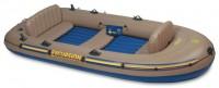 סירה מתנפחת המתאימה למטרות דייג חתירה ומנוע  Excursion 5