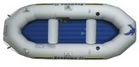 סירה מתנפחת  חדשה מתצוגה לדייג חתירה ומנוע SeaHawk II