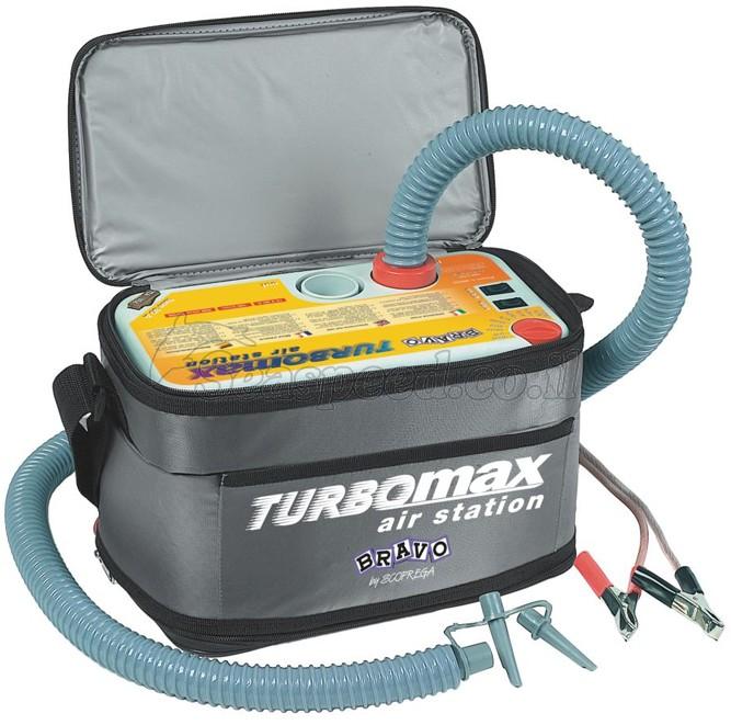 משאבה לסירות ומתנפחים גדולים TurboMax ממצבר הרכב תוצרת Bravo       דגם 6130002