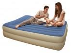 מזרון מיטה מוגבה זוגי כולל כרית ומשאבת אוויר ניפוח חשמלית דגם  67714  חדש !!!