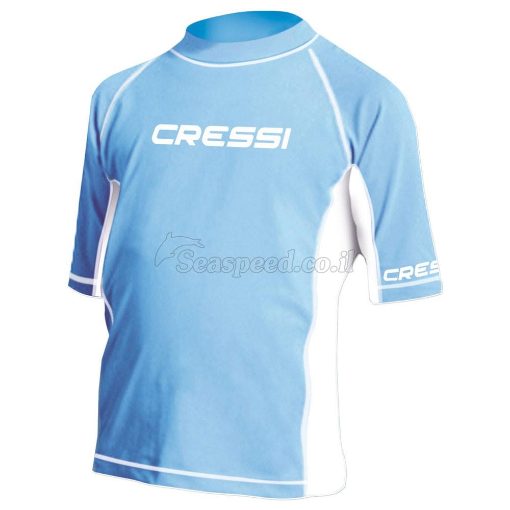 חולצת ליקרה שרוול קצר לילדים Cressi Anti Sun
