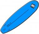 """גלשן גלים סופטי באורך 214 ס""""מ בנפח 51 ליטר Softy EVA 7"""